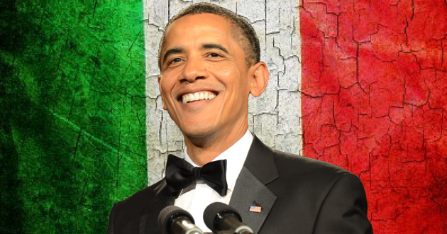 obama italia