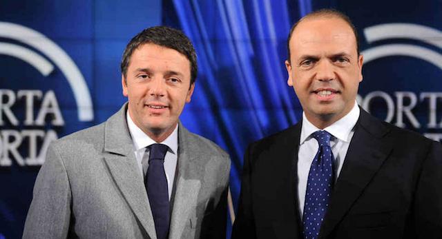 Alfano accusa Renzi