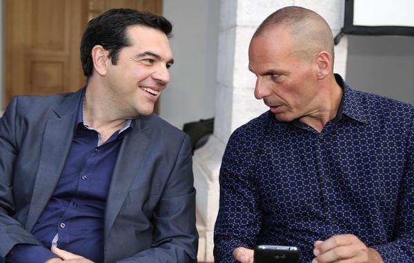 Tsipras - Varoufakis